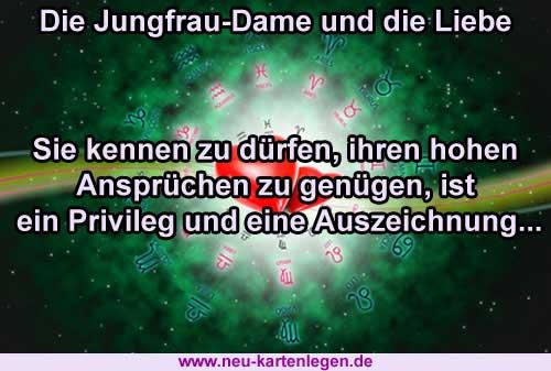Allgemeines Horoskop zur Jungfrau-Dame und der Liebe